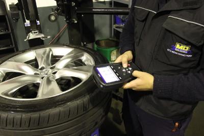 Reifenkontrolldruck
